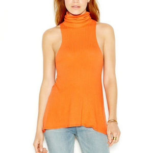 FP We the Free New City Drippy Turtleneck Tank Top